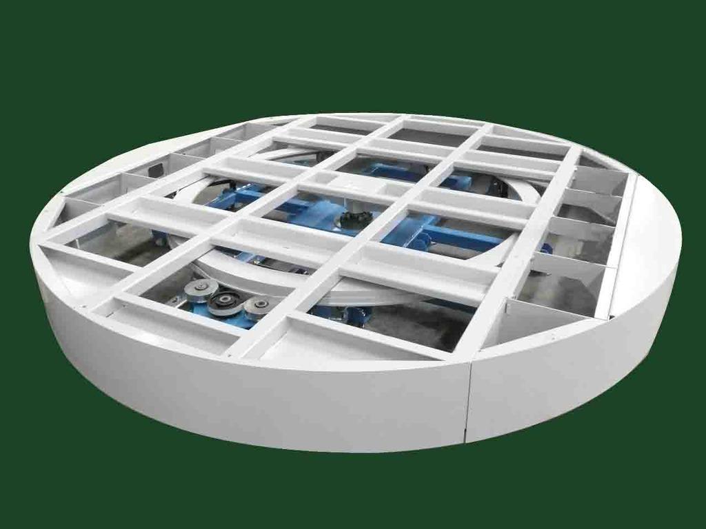 Tavola girevole motorizzata mod tagimo 4 metri di for Progetta i piani domestici delle tradizioni